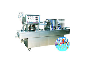 Automatic Cup Filler and Sealer